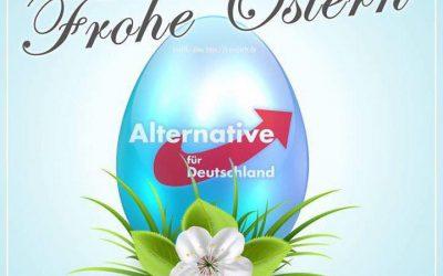 Allen Mitgliedern, Freunden und Unterstützern wünschen wir ein schönes Osterfest
